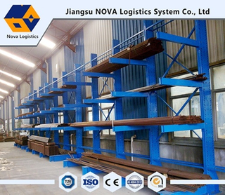 Rack cantilever à bras double et simple de Nova Logistics