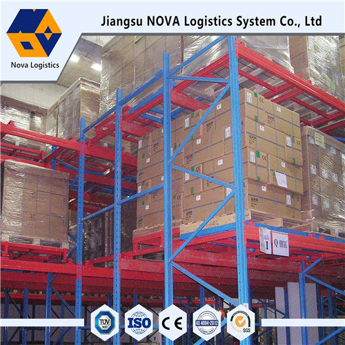 Petite voiture prise en charge Push Back Racking From China Manufacturer
